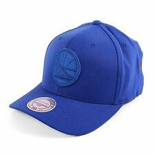 Mitchell & Ness 110 Golden State Warriors Snapback Cap Hat, Royal, 93175
