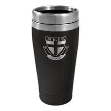 St Kilda Saints AFL TRAVEL Coffee Mug Cup Double Wall Stainless Steel Bar Gift