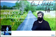 TITUS ANDRONICUS A Productive Cough 2018 Ltd Ed Patrick Stickles Signed Poster!