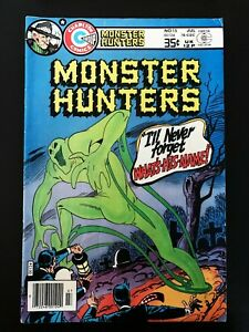 MONSTER HUNTERS #15 CHARLTON COMICS 1978 FN/VF