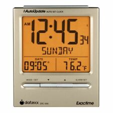 Datexx ExactTime - Digital Atomic Alarm Clock and Calendar | MaxStrata