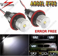 2 Bulbs Xenon White LED Angel Eye Lights for BMW 7 Series E65/E66 2002-2008