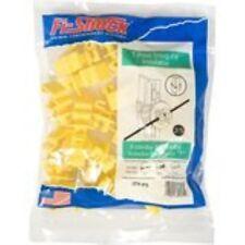 Fi-Shock Ity-Fs Standard Snug-Fitting T-Post Insulator, Yellow
