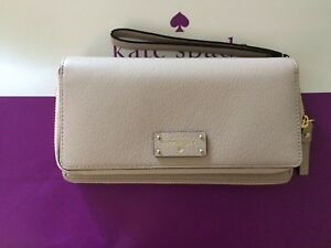 Authentic Kate Spade Anita Wristlet Wallet Grove Street iPhone Plus WLRU2818