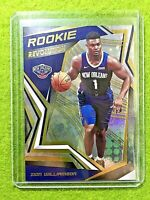 ZION WILLIAMSON PRIZM ROOKIE CARD RC REFRACTOR 2019-20 Panini Revolution PELICAN