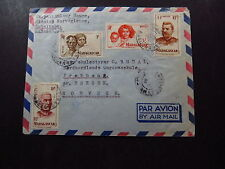 Cover Air Mail Madagascar Mission Antsirabe to Bergen Norway Norvege 1951
