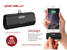 iWalk Link ME 3000- iPhone5/6/6PLUS/7/7+-dock charger+power bank+apple certified