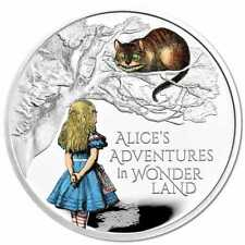 Alice's Adventures in Wonderland 2021 £2 Coloured 1oz Silver Proof 3500 Made