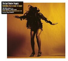 THE LAST SHADOW PUPPETS EVERYTHING YOU'VE COME TO EXPECT DELUXE CD ALBUM (2016))
