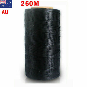 260 Meter 1mm Waxed Wax Thread Cord Sewing Craft DIY Leather Hand Stitching New