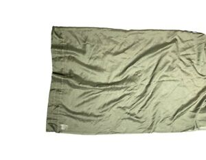 Pair of JC Penney Home Sage Green Curtains Panels Drapes Semi Sheer 58x84 Window