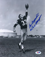 LEW CARPENTER SIGNED AUTOGRAPHED 8x10 PHOTO + 61/62 CHAMPS PACKERS PSA/DNA