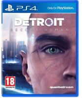 Detroit Become Human PS4 Game NEW SEALED - UK PAL for Sony Playstation 4 B