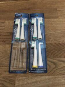 6 Oral-B Pulsonic Brush Heads - Brand New!