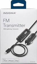 NEW Insignia Apple MFi Certified FM Transmitter Lightning Charger for iPhone XS