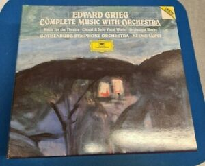 CD-Box (6 CDs) Grieg - Complete Music with Orchestra
