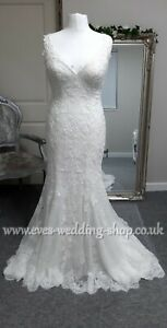 Aire Barcelona ivory wedding dress UK 18 - check measurements