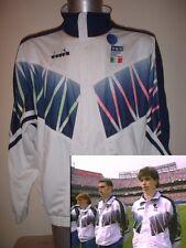 Italie italia coupe du monde haut survête adulte xl diadora 1994 chemise football soccer