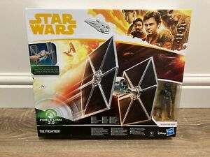 Hasbro Star Wars Force Link 2.0 Tie Fighter With Pilot 2017 VERY RARE MIB