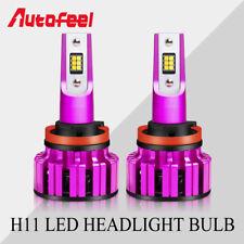 CSP 2x H11 H8 H9 LED Headlight Bulbs Low Beam Fog Driving Lamps New Upgrade 2019