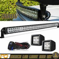 "50"" Light Bar+2X 3"" LED Pods FOR Kawasaki Teryx Mule 3010 1000 4000 PRODX"