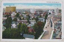Antique Postcard Skyline Uniontown, PA