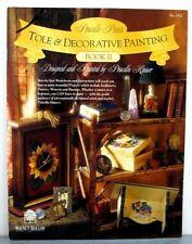 Priscilla Paints Tole & Decorative Painting Book2 projects instruction patterns
