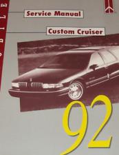 1992 GM Oldsmobile OLDS CUSTOM CRUISER Service Repair Workshop Shop Manual OEM