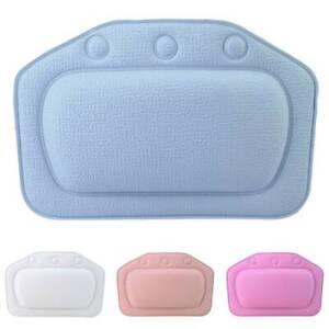 Luxury Bath Spa Pillow Comfy Cushion Spongy Relax Bathtub Cushion Suction Cups