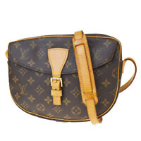 Auth LOUIS VUITTON Jeune Fille MM Shoulder Bag Monogram Leather M51226 89MF081