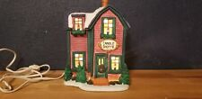 "1997 Dicken's Collectables Candle Shoppe Christmas Village Light Up 8 1/4"" T"