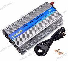1000W Grid Tie Inverter 110V For 24V/30V/36V Solar Panel Pure Sine Wave Inverter