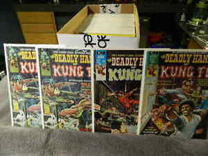 1974 MARVEL Comics THE DEADLY HANDS OF KUNG FU #1-33 - SHANG-CHI - You Pick