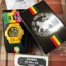 IN4MATION X CASIO G-SHOCK RASTA GLX-6900XA-9JR Reggae BOB MARLEY ONE LOVE NEW