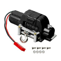 RC 1:10 Electric Winch +Controller For Traxxas TRX4 Axial SCX10 D90 D110 TF2 KM2