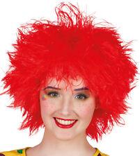 Frizzy Wuschelkopf Perücke rot NEU - Karneval Fasching Perücke Haare