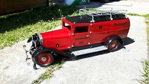Marklin 1989 1/16ème camion Reichspost mécanique ref 41778