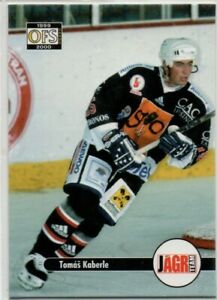 TOMAS KABERLE CZECH OFS 1999/00 #25 MAPLE LEAFS RARE!!!