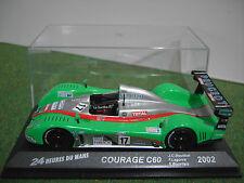 COURAGE C60 Bouillon Lagorce Bourdais 1/43 d 24 HEURES DU MANS voiture miniature