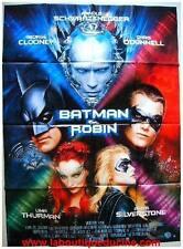 BATMAN ET ROBIN Affiche Cinéma / Movie Poster ARNOLD SCHWARZENEGGER