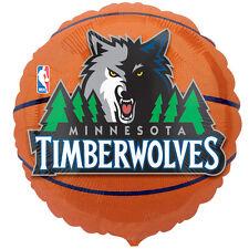 Minnesota Timberwolves Basketball Foil Balloon NBA Licensed Tailgate Birthday