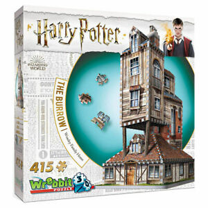 Harry Potter: The Burrow - The Weasley's Family Home 415pc 3D Puzzle Jigsaw