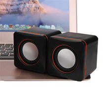 1 Pair Portable USB Multimedia Desktop Computer Notebook Mini Speaker Sound Box