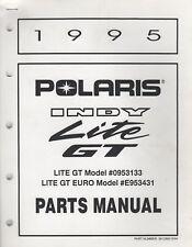 1995 POLARIS SNOWMOBILE  INDY LITE GT  PARTS MANUAL 9912892 (190)