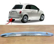 FOR FIAT 500 (312) 2007 - 2015 NEW REAR BUMPER CHROME MOLDING TRIM 735455395