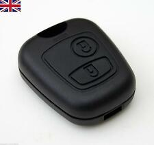 NEW UK Seller PEUGEOT 206 2 BUTTONS REMOTE KEY FOB CASE SHELL