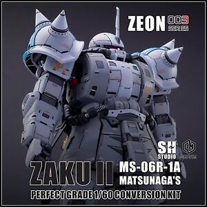 Gundam Resin Conversion Kits - ZAKU II