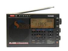 New TECSUN PL680 PLL World Band Receiver FM Stereo MW LW SW SSB AIR Band BLACK