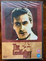 The Godfather Part II DVD 1974 Crime Gangster New Sealed Al Pacino Christmas