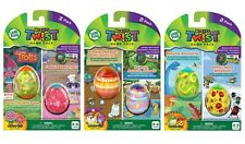 LeapFrog RockIt Twist Lot of 3 Game Packs Dinosaur Discoveries Trolls & Animals
